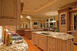 Custom designed custom kitchen