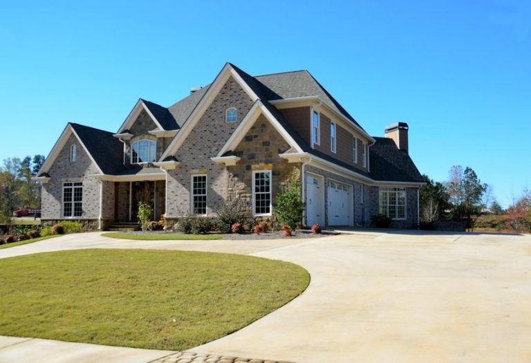 Whole home remodeling with stone and brick exterior.