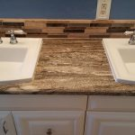 Bathroom remodeling counter top, sinks