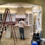 Kitchen remodeling and painting