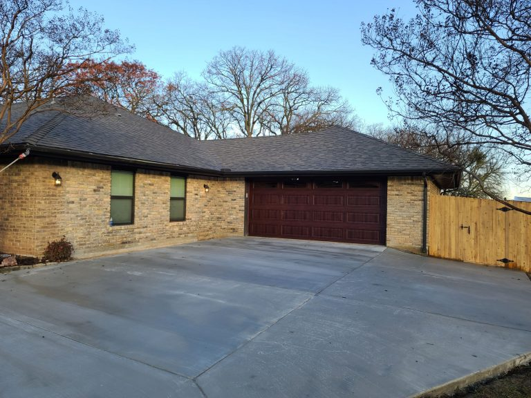 Garage, home addition matching 40 year old brick and mortar